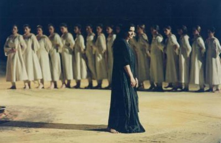 Greek tragic actors were given prizes for